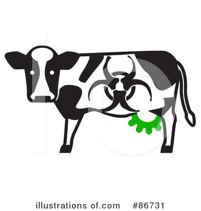 Cow Clipart #86731 by Leo Blanchette