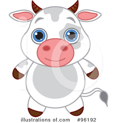 Cow Clipart #96192 by Pushkin