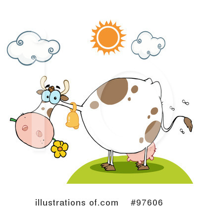 Cow Clipart #97606 by Hit Toon