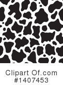 Cow Print Clipart #1407453 by Any Vector