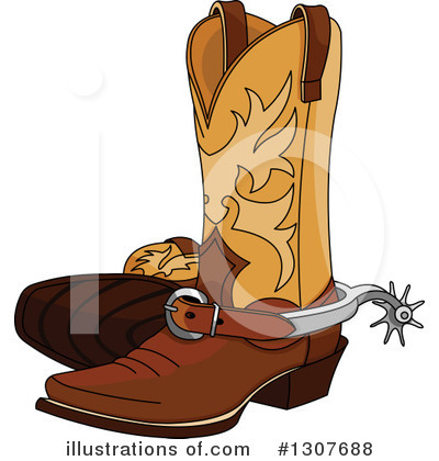 Shoes Clipart #1307688 by Pushkin