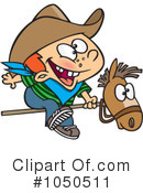 Royalty-Free (RF) Cowboy Clipart Illustration #1050511