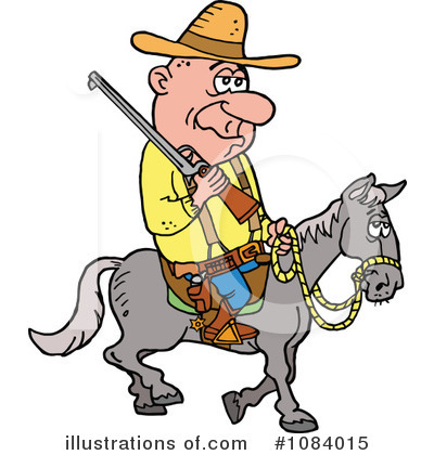 Hillbilly Clipart #1084015 by LaffToon