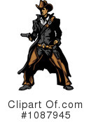 Cowboy Clipart #1087945 by Chromaco