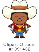 Royalty-Free (RF) Cowboy Clipart Illustration #1091432