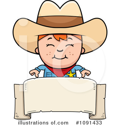 Cowboy Clipart #1091433 by Cory Thoman
