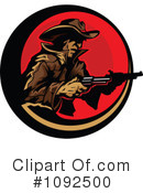 Cowboy Clipart #1092500 by Chromaco