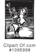 Royalty-Free (RF) cowboy Clipart Illustration #1095998