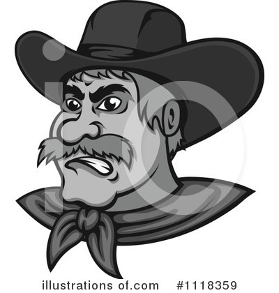 Cowboy Clipart #1118359 by Vector Tradition SM