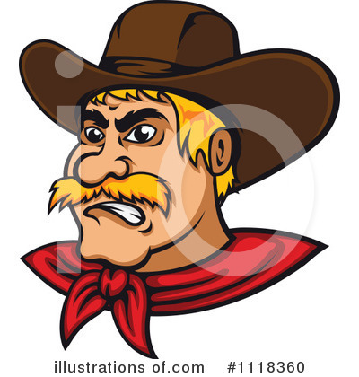 Cowboy Clipart #1118360 by Vector Tradition SM