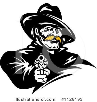 Cowboy Clipart #1128193 by Vector Tradition SM