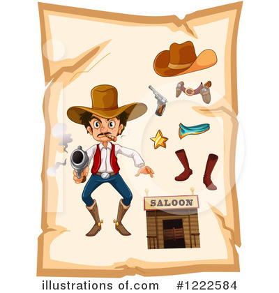 Cowboy Boots Clipart #1222584 by Graphics RF