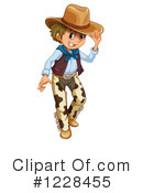 Cowboy Clipart #1228455 by Graphics RF