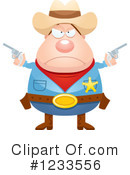 Royalty-Free (RF) Cowboy Clipart Illustration #1233556