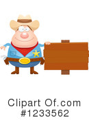 Royalty-Free (RF) Cowboy Clipart Illustration #1233562