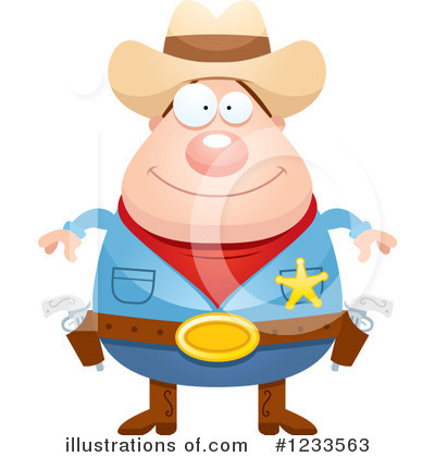 Police Man Clipart #1233563 by Cory Thoman