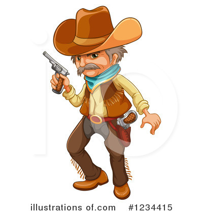 Guns Clipart #1234415 by Graphics RF