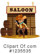 Cowboy Clipart #1235535 by Graphics RF