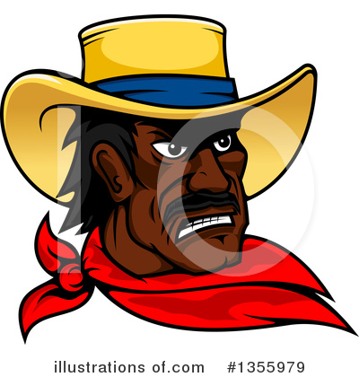 Cowboy Clipart #1355979 by Vector Tradition SM