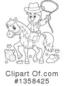 Cowboy Clipart #1358425 by visekart