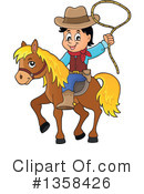 Cowboy Clipart #1358426 by visekart