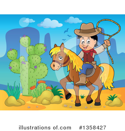 Cowboy Clipart #1358427 by visekart