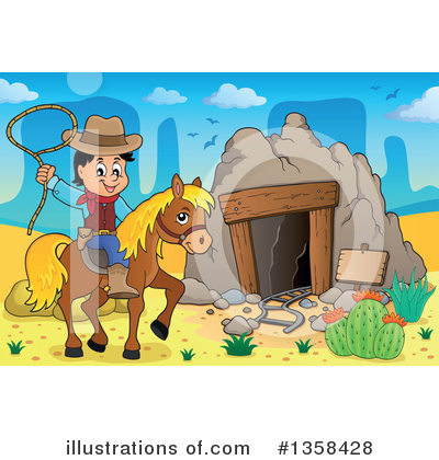 Cowboy Clipart #1358428 by visekart