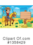 Cowboy Clipart #1358429 by visekart