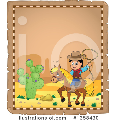 Cowboy Clipart #1358430 by visekart