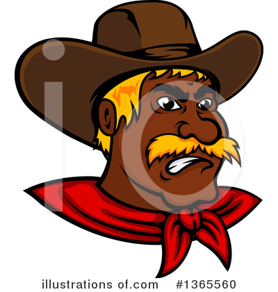 Cowboy Clipart #1365560 by Vector Tradition SM