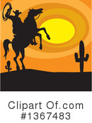Cowboy Clipart #1367483 by Andy Nortnik