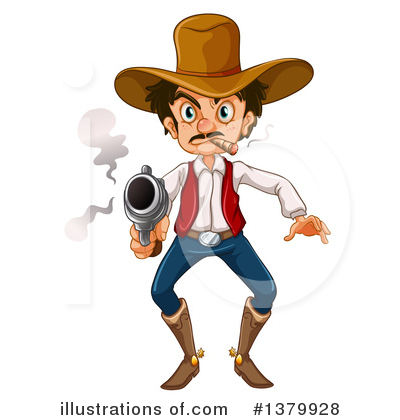 Pistol Clipart #1379928 by Graphics RF