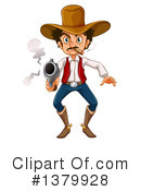 Cowboy Clipart #1379928 by Graphics RF