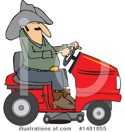 Farmer Clipart #1401055 by djart
