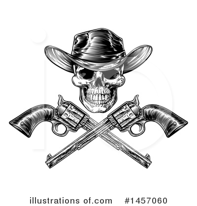 Cowboy Clipart #1457060 by AtStockIllustration