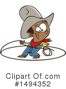 Cowboy Clipart #1494352 by toonaday