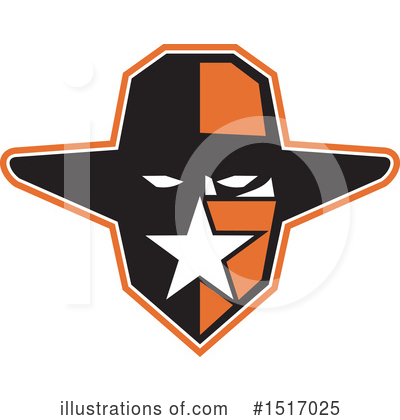 Royalty-Free (RF) Cowboy Clipart Illustration by patrimonio - Stock Sample #1517025