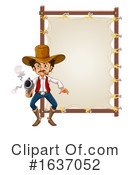 Cowboy Clipart #1637052 by Graphics RF
