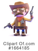 Cowboy Clipart #1664185 by Steve Young
