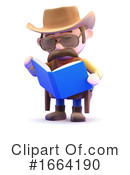Cowboy Clipart #1664190 by Steve Young