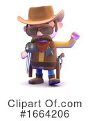 Cowboy Clipart #1664206 by Steve Young