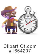 Cowboy Clipart #1664207 by Steve Young