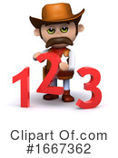 Cowboy Clipart #1667362 by Steve Young