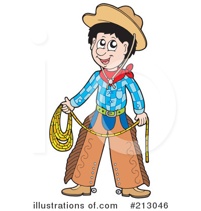 Cowboy Clipart #213046 by visekart