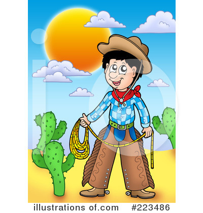 Cowboy Clipart #223486 by visekart
