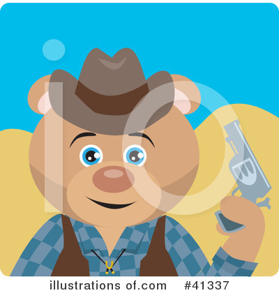 Bear Clipart #41337 by Dennis Holmes Designs