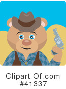 Royalty-Free (RF) Cowboy Clipart Illustration #41337