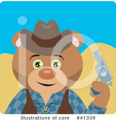 Bear Clipart #41339 by Dennis Holmes Designs