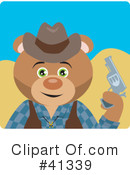 Royalty-Free (RF) Cowboy Clipart Illustration #41339