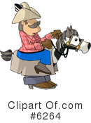 Royalty-Free (RF) Cowboy Clipart Illustration #6264